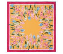 Tuch aus Seiden-twill mit Blumenprint