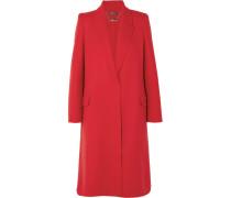 Mantel aus einer Doppellagigen Woll-kaschmirmischung