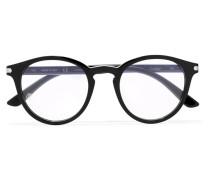 Brille mit Rundem Rahmen aus Azetat