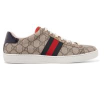 Ace Bedruckte Sneakers aus Beschichtetem Canvas
