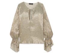 Ziggy Bluse aus Lurex® aus einer Seidenmischung
