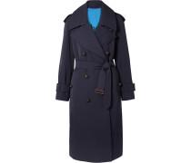 Regina Oversized-trenchcoat aus Woll-gabardine