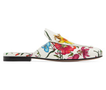 Princetown Slippers aus Canvas