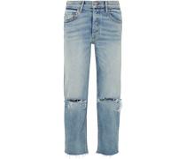 Helena Hoch Sitzende Jeans
