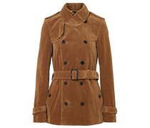 Doppelreihige Jacke aus Baumwollcord