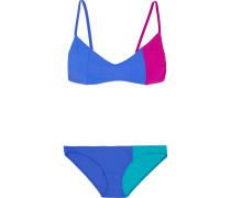 Elsa And Enel Triangel-bikini in Colour-block-optik
