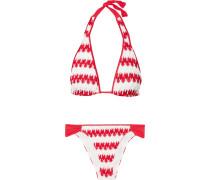 Mare Donna Triangel-bikini aus Strick in Häkeloptik
