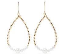 Ohrringe aus 14 Karat  mit Perlen