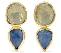 Double Orbit Ohrringe aus 18 Karat Gold