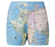 Cod Shorts aus Bedrucktem Crêpe De Chine
