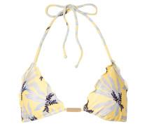 Lily Bedrucktes Triangel-bikini-oberteil
