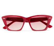 Ingridh Cat-eye-sonnenbrille aus Azetat