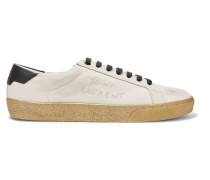 Court Classic Distressed-sneakers aus Canvas