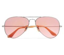 Aviator farbene Sonnenbrille