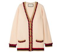 Oversized-cardigan aus einer Woll-kaschmirmischung