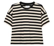 The Roadie Gestreiftes T-shirt aus Baumwoll-jersey