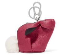 Bunny Taschenanhänger aus Strukturiertem Leder