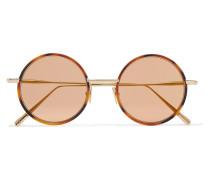 Scientist Goldfarbene Sonnenbrille