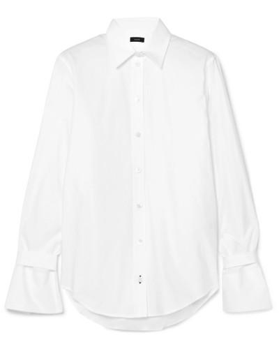 Rem Hemd aus Baumwollpopeline