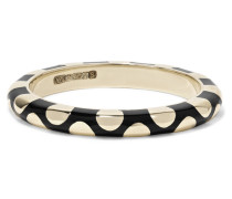 Memphis Ring aus 14 Karat  mit Emaille