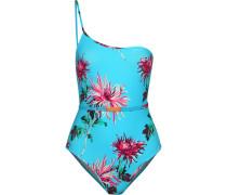 Floral Bedruckter Badeanzug