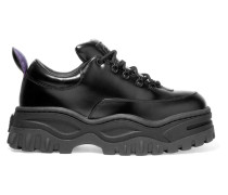 Angel Plateau-sneakers aus Glanzleder