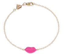 Lip Armband aus 14 Karat  mit Emaille