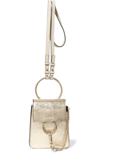 Chloé Damen Faye Bracelet Mini Schultertasche aus Craquelé-leder in Metallic-optik Footlocker Abbildungen Günstigen Preis Auslass Bestseller VFQnGXgvQH