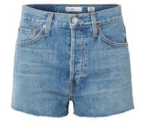 The Short Jeansshorts mit Fransen