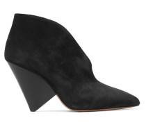Adenn Ankle Boot aus Veloursleder