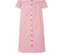 Malou Schulterfreies Kleid aus Biobaumwolle