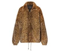 Oversized-jacke aus Faux Fur