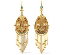 Viktorianische Ohrringe aus 18 Karat