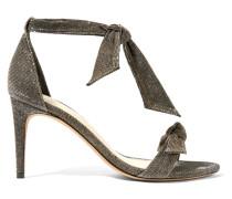 Clarita Sandalen aus Strukturiertem Lamé