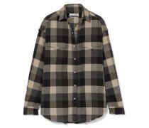Garance Kariertes Hemd aus Flanell aus einer Baumwollmischung