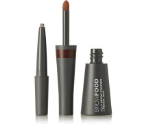 Browfood Aqua Brow Powder + Pencil Duo – Brunette – Augenbrauen-set