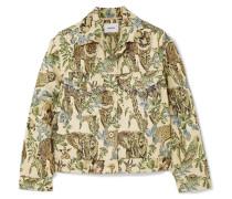 Kiowa Jacke aus Metallic-jacquard