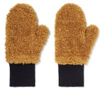 Handschuhe aus Faux Fur