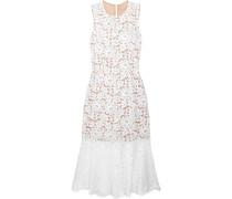 Kleid aus Schnurgebundener Spitze aus einer Baumwollmischung