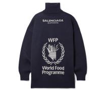 + World Food Programme Oversized-rollkragenpullover aus Wolle