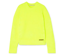 Sweatshirt Aus Geripptem Frottee