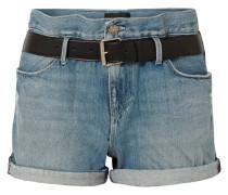 Pierce Jeansshorts in Distressed-optik
