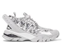Caramene Sneakers aus Metallic-shell und Gummi