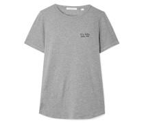 Kiss Me T-shirt aus Baumwoll-jersey