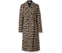 Belloa Doppelreihiger Mantel aus einer Wollmischung