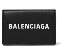 Everyday Bedrucktes Portemonnaie aus Strukturiertem Leder
