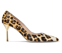 Pumps Aus Kalbshaar Mit Leopardenprint