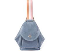 Fernweh Micro Tasche aus Veloursleder