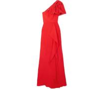 Belhaven Robe aus Seiden-jacquard