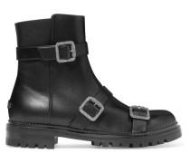 Hank Ankle Boots aus Leder mit Verzierungen